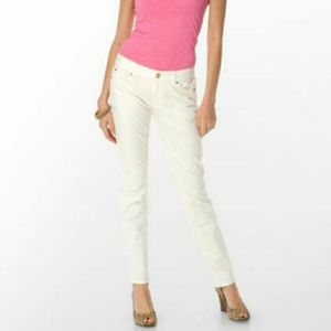 Lilly Pulitzer Palm beach fit white crops